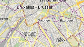 Map of Beverly Hills Hotel Brussel
