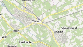 Map of Boutique B&B Klein Hartenlust Terborg