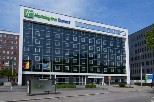 Holiday Inn Express Antwerp City North, Foto Hotel Vorderseite