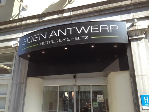 Eden Antwerp by Sheetz hotels, Photo devant l'hôtel